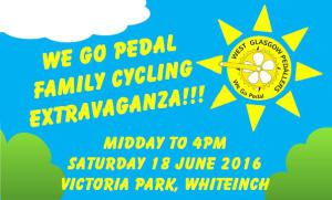 GoBike is supporting the Family Cycling Extravaganza on Victoria Park tomorrow, 18 June. It should be a great day out for everyone, with lots of activities as well as the […]