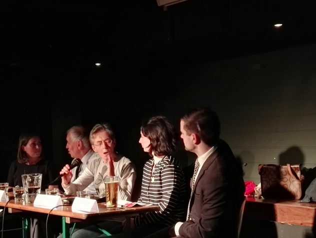 Here's the panel from last night's Hustings getting ready for the debate. From left, Anna Richardson, SNP, Robert Brown, LibDem, Tricia Fort, GoBike Convenor in the centre, Christy Mearns, Greens […]