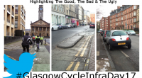 It's Friday! It's September 8th!! It's #GlasgowCycleInfraDay17!!! Yes, the day has finally arrived for us to take to the streets of Glasgow and show the world exactly what our cycling infrastructure […]