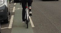 GoBike member, Johnston Orr, trying to cycle along the Colleges Cycle route on Highburgh Road towards Byres Road. Note the car encroaching on the very narrow door opening zone and […]