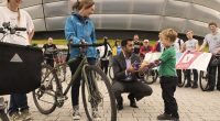On Sunday 08 October Walk Cycle Vote supporters gathered outside the SNP conference venue in Glasgow.  The photo above shows a young cycle enthusiast offering the Transport Minister, Humza Yousaf, a […]
