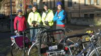 On Saturday 11th November 2017, GoBike members Bob Downie and Andy Winter, and Rumina Kakati (who leads rides enjoyed by new, nervous and lapsed cyclists) met with Allan Young, the […]
