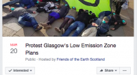 On Friday we shared with you Friends of the Earth Scotland's response to the proposals Glasgow City Council has put forward for their Low Emission Zones. We are in full […]