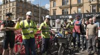 GoBike campaigners, Friends of South City Way, and a group of local residents paid a visit to labourers working on a new cycle path on the south side of Glasgow […]