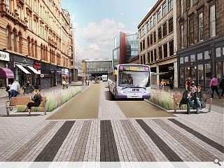 "Yes, plans are afoot for the Argyle Street Avenue, see:  http://www.urbanrealm.com/news/7475/Argyle_Street_%E2%80%98Avenue%E2%80%99_consultation_gets_underway.html  which contains, as well as the background details, this information:   ""On Street Consultation Schedule   Friday […]"