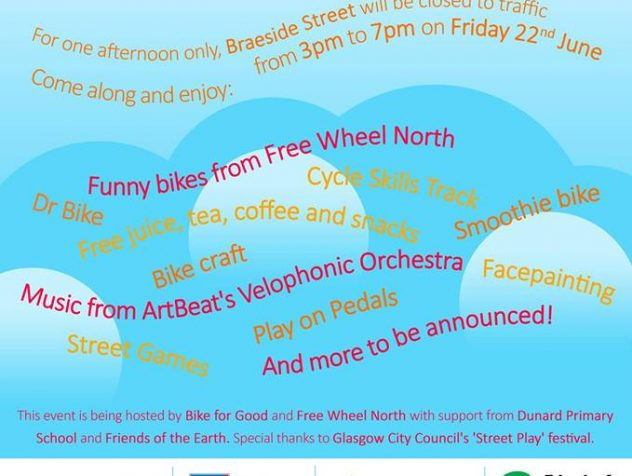 Roll up roll up join us one and all! Come and join us in reclaiming the street this Friday for a street festival, free from cars. We will be there […]